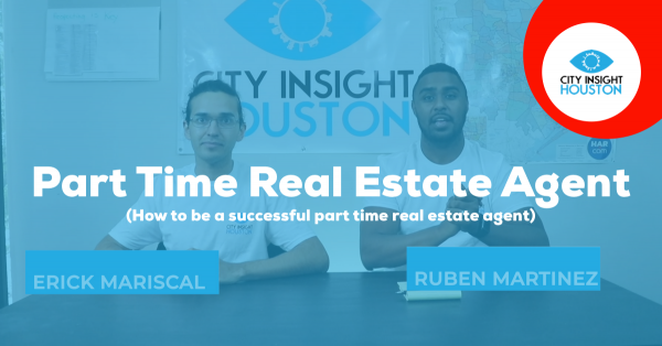 can you be a part time real estate agent