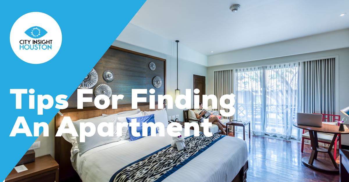 Tips for finding an apartment
